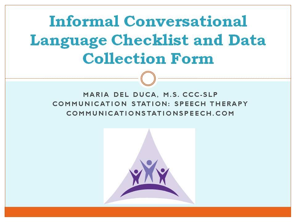 Communication skills checklist template