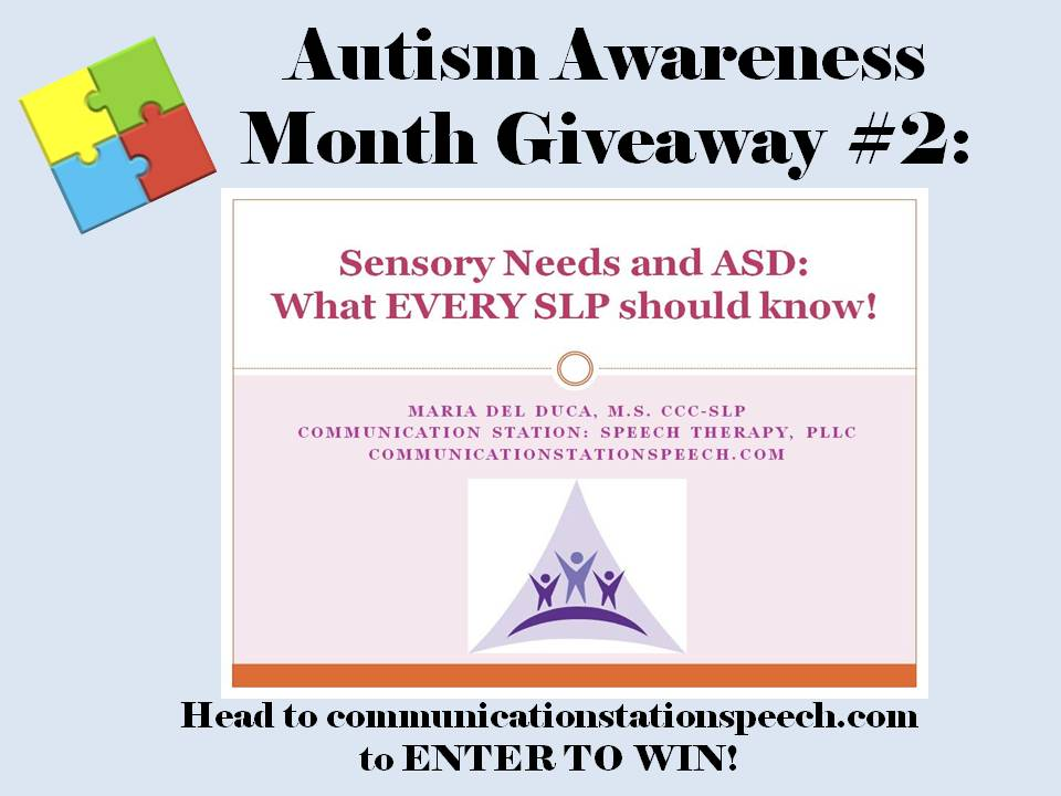 ASD month 2014 Giveaway 2