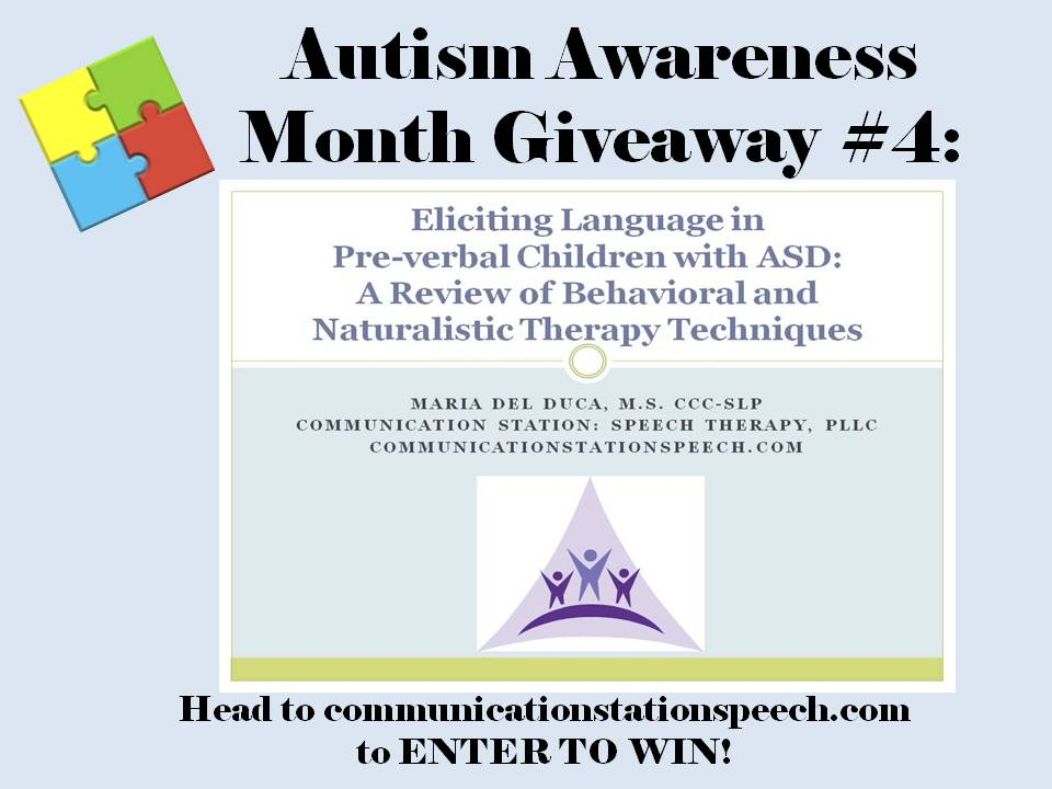 ASD month 2014 Giveaway 4