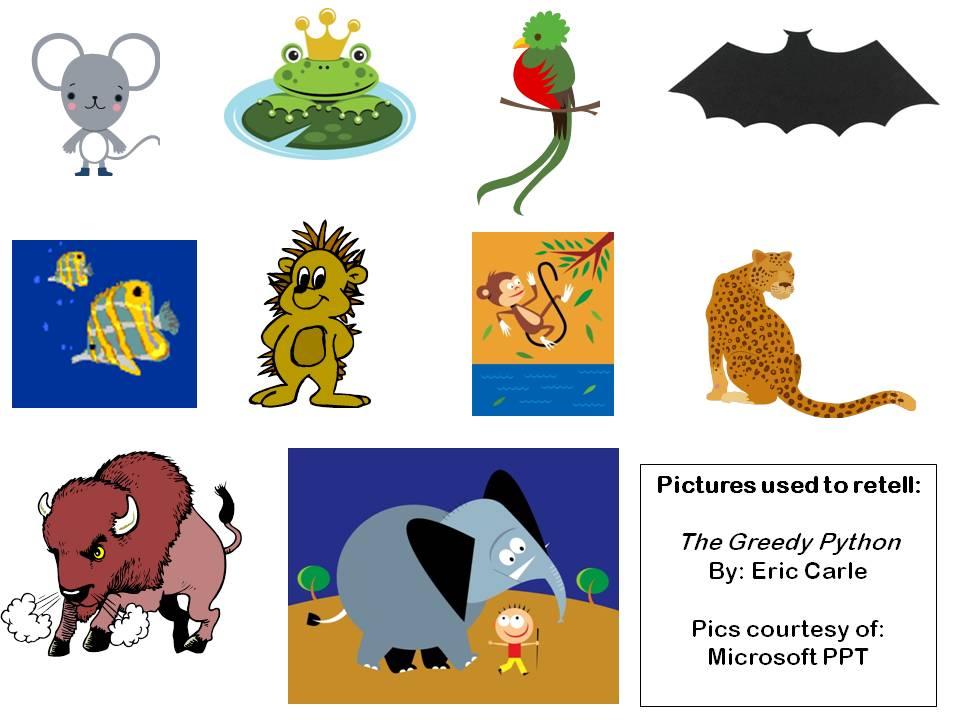 The Greedy Python pics