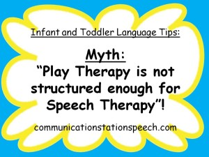 Myth-Play thearpy is not structured enough for speech therapy