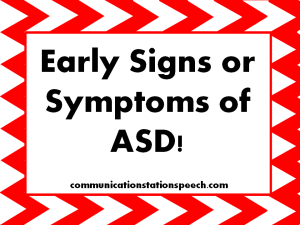 early signs n symptoms