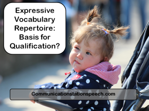 Expressive Vocab basis for qualification
